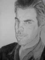 Zachary Quinto - Sylar by SephirothMichaelis
