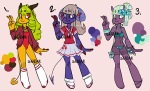 ROYGBIV Adopt Set 2 [CLOSED] by Sneaksneaksneak