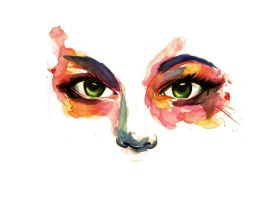 Watercolor Tears 01 by Antilef