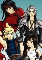 Final Fantasy 7 by MissMinority