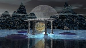 Fractal Temple II by Topas2012