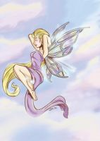 Fairy Tattoo :Color: by Poorboy-Comics