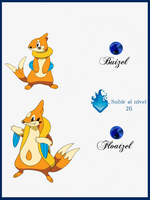 194 Buizel by Maxconnery