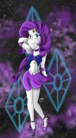 MLP Sailor Moon: Sailor Rarity by KarToon12