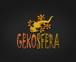 Logo Gekosfera Black2 by fenderowa