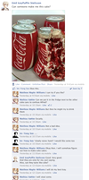 Hetalia Facebook: Coke Cake by gilxoz-epicness