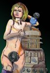 Doctor Who Jo Grant Nude,Dalek by stephantom53