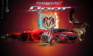 Ice And Fire Dodge Dart by MOham11
