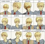 Pixiv expression meme: Giovanni Rammsteiner by TheRedClouds