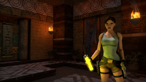 Tomb Raider: The temple by SKing-TRF