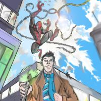 spidey meets dr who (added effects) by danny2069