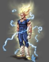 Majin Vegeta by scottssketches