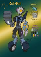Cell-Bot Character Bio by The-HT-Wacom-Man