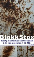 Rusty Container texture pack by BlokkStox