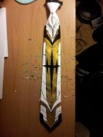 Kill la Kill golden tie by raptor007