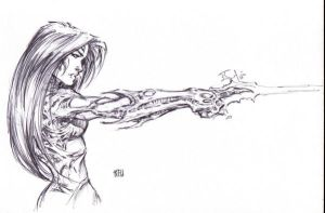Witchblade by Keu Cha by duckness