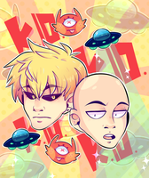 The Comedic Duo: One Punch-Line by DarkMagic-Sweetheart