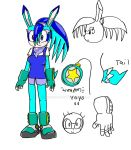 Tydelle the Hedgehare Reference by Lordy-Oh
