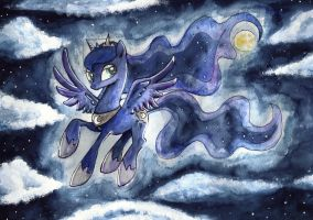 Princess of the Night by Nightrosi