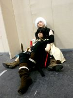 Kanda and Allen by Riunien