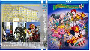 Macy's Thanksgiving Day Parade 2000 Blu-Ray Cover by MrYoshi1996