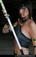 Jade from Mortal Combat by LexiStrife