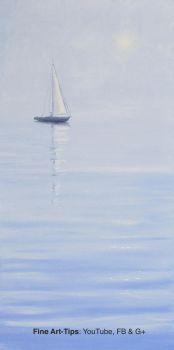 How to Paint a Sailing Boat - With Oil Paints by ArtistLeonardo