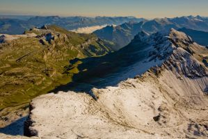 View from Schilthorn by themobius