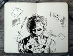 #258 Joker by 365-DaysOfDoodles