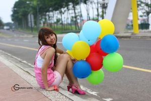 Sheryl with Balloons by GC-Photoworks
