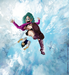 You are flying now, woman. by ginkoflowers