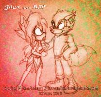 Jack and Airy by lu-raziel