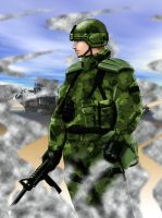 Soldier 1 by SeanyP40