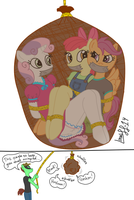 Coloured Cutie Mark Crusaders Detective Agency by XYZExtreme13