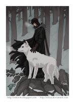 Jon Snow by irikoy