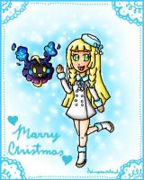 Lillie and Nebby christmas
