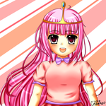 Princess Bubblegum by GreenTea-Ice