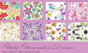 Floral Photoshop Patterns. by Coby17