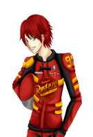Lightning McQueen Human version by sora-jimonitos