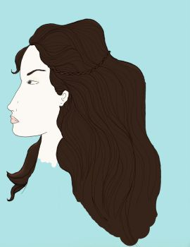 Crown of Hair by Vonni-Strano