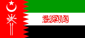 Flag of the Greater Saudi Kingdom by wolfmoon25