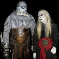 Nuada and Mr. Wink -Final Costumes by GabbyLeithsceal