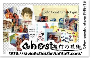 Other country stamp PNGx15 by SiwonChoi