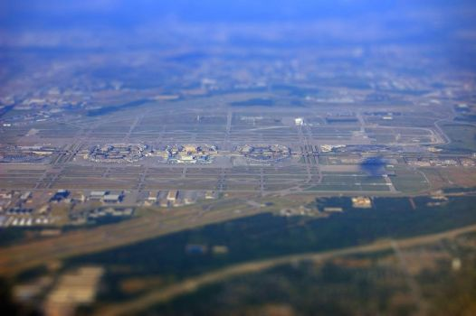 Dallas Fort-Worth Airport by tevruden