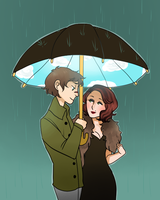 April Showers by Golly-chan