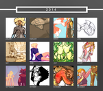 2014 Art Summary by Aileen-Kailum