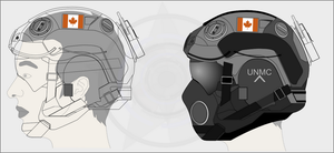 UN Combat Helmet WIPS 2 by Jon-Michael-May