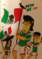 Viva Mexico! Happy Mexican Independence Day! by AwesomeLatinoArtist