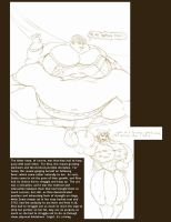 Fat Lady and Strongwoman by Saxxon