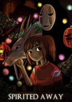 Spirited Away by korangi